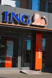 Μόνη τράπεζα ING Στοκ Φωτογραφίες