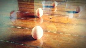 Μόνιμα αυγά Στοκ Φωτογραφία