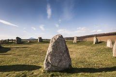 Μόνιμες πέτρες Πάσχας Aquhorties στη Σκωτία Στοκ φωτογραφία με δικαίωμα ελεύθερης χρήσης