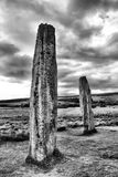 Μόνιμες πέτρες στο νησί Arran, Σκωτία Στοκ φωτογραφίες με δικαίωμα ελεύθερης χρήσης
