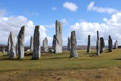 Μόνιμες πέτρες Callanish. Στοκ Φωτογραφία