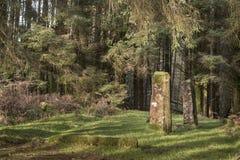 Μόνιμες πέτρες Kilmore σε Dervaig στο νησί Mull Στοκ φωτογραφίες με δικαίωμα ελεύθερης χρήσης