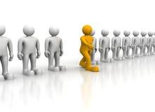 μόνιμες ταμπλέτες σειράς ηγετών έννοιας διανυσματική απεικόνιση