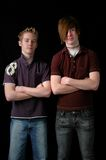 μόνιμοι έφηβοι Στοκ εικόνες με δικαίωμα ελεύθερης χρήσης