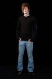 μόνιμος έφηβος Στοκ Φωτογραφία