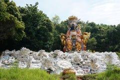 Μόνιμος ναός του Βούδα με τον αυτοκράτορα νεφριτών Στοκ φωτογραφία με δικαίωμα ελεύθερης χρήσης