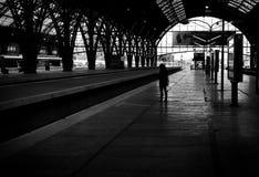 Μόνοι άνθρωποι Στοκ Εικόνες
