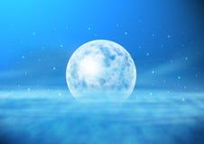 Μόνος μπλε πλανήτης απεικόνιση αποθεμάτων