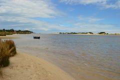 Μόνος ποταμός Canleones Στοκ φωτογραφία με δικαίωμα ελεύθερης χρήσης