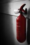 Μόνος πυροσβεστήρας Στοκ Εικόνες