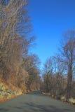 μόνος δρόμος στοκ φωτογραφία