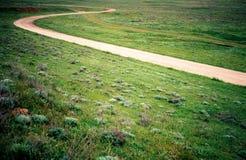 μόνος δρόμος Στοκ Φωτογραφίες