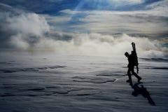 μόνος ταξιδιώτης Στοκ Φωτογραφίες