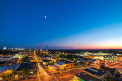 Μόνο αστέρι στο νυχτερινό ουρανό Στοκ φωτογραφία με δικαίωμα ελεύθερης χρήσης