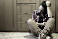 μόνο κορίτσι Στοκ φωτογραφίες με δικαίωμα ελεύθερης χρήσης