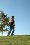 μόνο περπατώντας Στοκ εικόνα με δικαίωμα ελεύθερης χρήσης