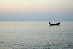 Μόνο σκάφος Στοκ Εικόνες