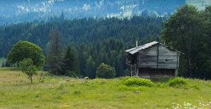 Μόνο σπίτι και όμορφη άποψη Στοκ φωτογραφίες με δικαίωμα ελεύθερης χρήσης