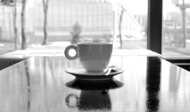 Μόνο φλυτζάνι coffe Στοκ εικόνες με δικαίωμα ελεύθερης χρήσης