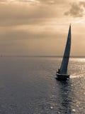 μόνο sailboat στοκ φωτογραφίες με δικαίωμα ελεύθερης χρήσης