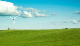 μόνο windturbine Στοκ φωτογραφίες με δικαίωμα ελεύθερης χρήσης