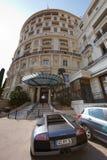 Μόντε Κάρλο, Μονακό, 25 09 2008: Ξενοδοχείο de Παρίσι Στοκ εικόνα με δικαίωμα ελεύθερης χρήσης