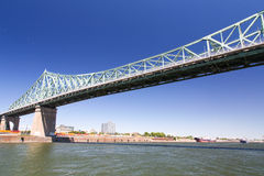 Μόντρεαλ, Ζακ Cartier Bridge στοκ φωτογραφία
