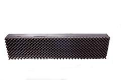 Μόνωση κιβωτίων microfiber για το θόρυβο στο στούντιο μουσικής ή ακουστικός Στοκ φωτογραφία με δικαίωμα ελεύθερης χρήσης