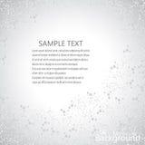 Μόρια στο γκρίζο υπόβαθρο επίσης corel σύρετε το διάνυσμα απεικόνισης διανυσματική απεικόνιση