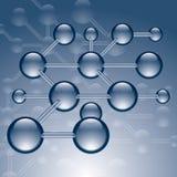 μόρια Στοκ εικόνα με δικαίωμα ελεύθερης χρήσης
