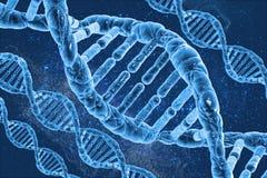 Μόρια DNA διανυσματική απεικόνιση