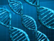 Μόρια DNA Στοκ Φωτογραφίες