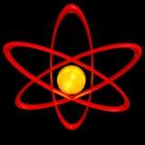 μόριο ατόμων Διανυσματική απεικόνιση
