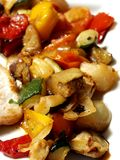 μόριο λαχανικών χοιρινού κρέατος στοκ φωτογραφίες με δικαίωμα ελεύθερης χρήσης