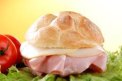 μόριο τελών τυριών της Μπολόνιας sandwick Στοκ Εικόνες