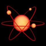 μόριο 2 ατόμων Διανυσματική απεικόνιση