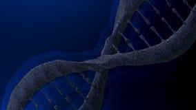 Μόριο DNA, τρισδιάστατη απεικόνιση Στοκ εικόνες με δικαίωμα ελεύθερης χρήσης