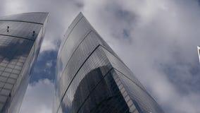 Μόσχα Άποψη της διεθνούς Μόσχα-πόλης ` εμπορικών κέντρων ` της Μόσχας φιλμ μικρού μήκους