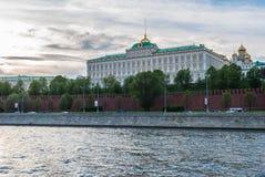 Μόσχα, άποψη της Μόσχας Κρεμλίνο Στοκ Εικόνα