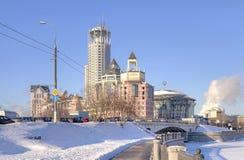 Μόσχα Ανάχωμα του ποταμού Στοκ Φωτογραφία