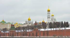 Μόσχα Αρχάγγελος και Annunciation καθεδρικός ναός Στοκ Φωτογραφίες