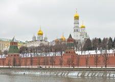 Μόσχα Αρχάγγελος και Annunciation καθεδρικός ναός Στοκ Εικόνα