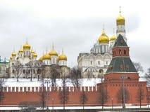 Μόσχα Αρχάγγελος και Annunciation καθεδρικός ναός Στοκ φωτογραφίες με δικαίωμα ελεύθερης χρήσης