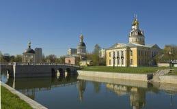 Μόσχα, εκκλησίες Στοκ Φωτογραφία