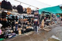 Μόσχα - 22 04 2017: Η αγορά σε Izmailovsky Κρεμλίνο, Μόσχα Στοκ Εικόνες
