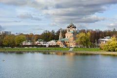 Μόσχα ιερή τριάδα εκκλησιών Στοκ φωτογραφίες με δικαίωμα ελεύθερης χρήσης
