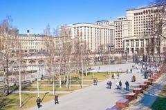 Μόσχα. Κήπος του Αλεξάνδρου στοκ φωτογραφίες