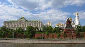 Μόσχα Κρεμλίνο: Μεγάλο παλάτι του Κρεμλίνου, πύργος κουδουνιών του Ivan ο μεγάλος και άλλος Στοκ εικόνα με δικαίωμα ελεύθερης χρήσης