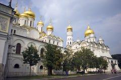 Μόσχα Κρεμλίνο ο πύργος κουδουνιών του καθεδρικού ναού Annunciation Στοκ Φωτογραφίες
