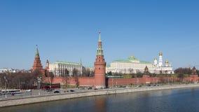 Μόσχα Κρεμλίνο την άνοιξη Στοκ Φωτογραφίες